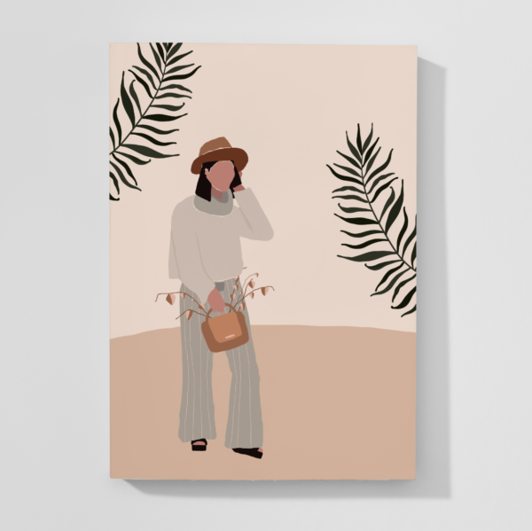 Abstract Fall Notebook